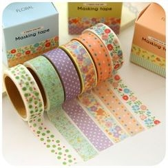 Fancy Mansion - Printed Masking Tape