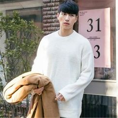 STYLEMAN - Colored Round-Neck Sweater