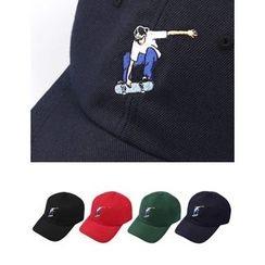 STYLEMAN - Skate Embroidered Baseball Cap