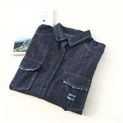 Ranche - Distressed Denim Shirt