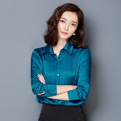Sienne - Silk Long-Sleeve Shirt
