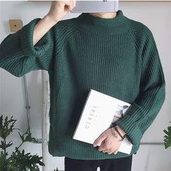 ZZP HOMME - Mock Neck Sweater
