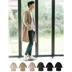STYLEMAN - Single-Breast Colored Coat