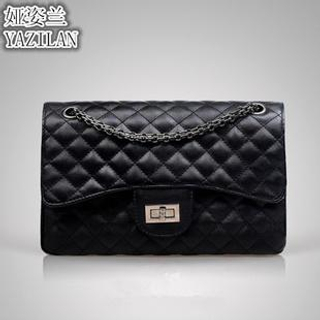 LineShow - Quilted Boxy Shoulder Bag
