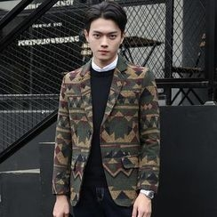 LIBIN - Patterned Blazer