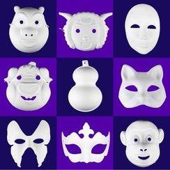 Dress Parade - Kids Party Mask