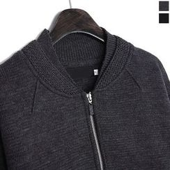 Seoul Homme - Zipped Knit Jacket