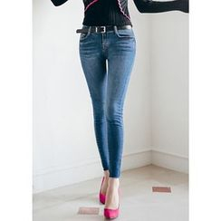 Chlo.D.Manon - Washed Skinny Jeans