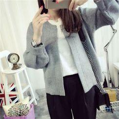 Hibisco - Plain Knit Jacket