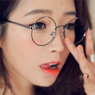 mol girl round glasses yesstyle