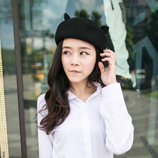 Clair Fashion - Ear-Accent  Beret
