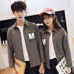 Azure - Couple Matching Applique Shirt