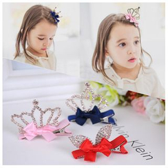 Aurabe - Kids Rhinestone Hair Clamp (3 Designs)