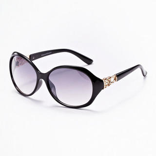 Moonbasa - Metal Cannage Accent Sunglasses