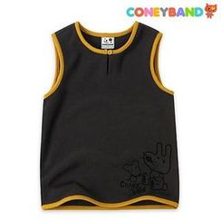 CONEYBAND - Kids Sleeveless Brushed Fleece Top