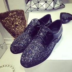 Ginko - Glitter Oxford Shoes