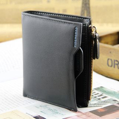 BagBuzz - Zip Faux Leather Wallet
