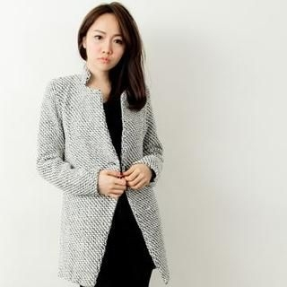 D.P-Shop - One-Button Wool Jacket