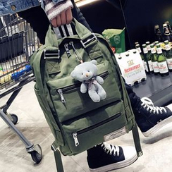 I.O.U - Nylon Laptop Backpack