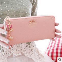 Rinka Doll - Rhinestone Bow Long Wallet