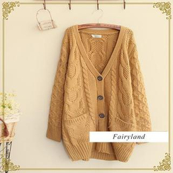 Fairyland - Cable Knit Chunky Cardigan