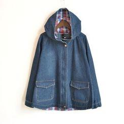 Waypoints - Hooded Denim Jacket