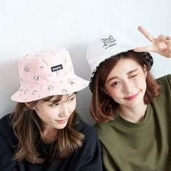 BAIMOMO - 印花漁夫帽