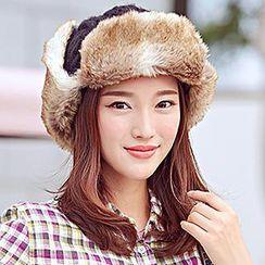 Thantrue - Furry-Lined Earflap Hat