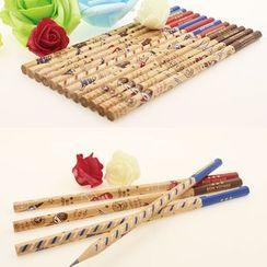 Bookuu - Printed Pencil 12 pcs