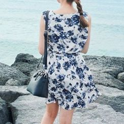 Arroba - Sleeveless Floral Dress
