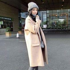 lilygirl - 纯色针织大衣