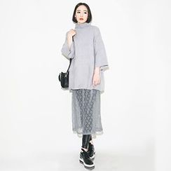 Jolly Club - Lace Maxi Skirt