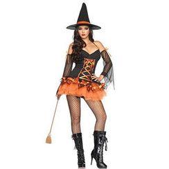 Cosgirl - 女巫角色扮演服套装