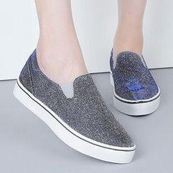 Renben - Glittered Slip-Ons