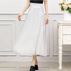 MARIT - Chiffon Long Skirt