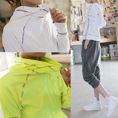 OneRoad - Quick Dry Hooded Zip Jacket