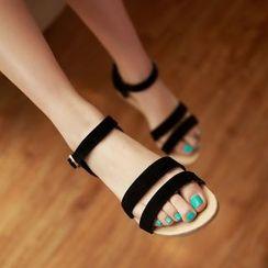 Shoes Galore - Double Strap Sandals