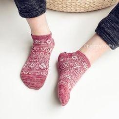 CherryTuTu - Patterned Socks