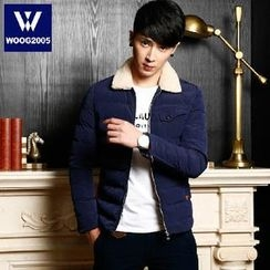 WOOG - Fleece Collar Padded Jacket