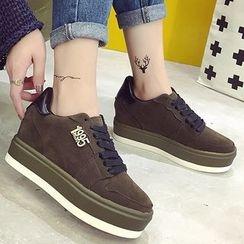Limone - Number Platform Sneakers