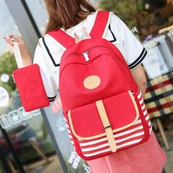 Crystal - Striped Backpack