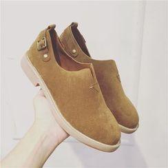 kokoin - 仿麂皮樂福鞋