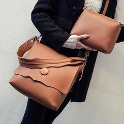 Bag Affair - 套裝: 仿皮肩包