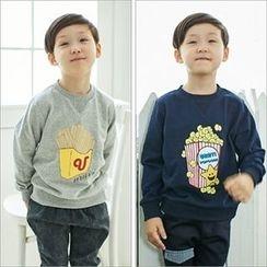 URAVI - Cotton Print Sweatshirt