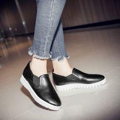 傾城 - 仿皮輕便鞋