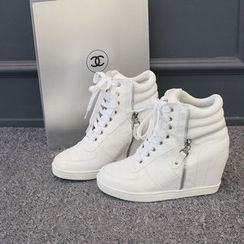 DANI LOVE - Hidden-Heel Sneakers