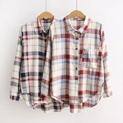 Angel Love - Plaid Shirt