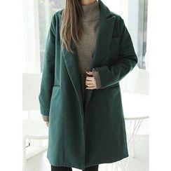 BBAEBBAE - Peaked-Lapel Coat