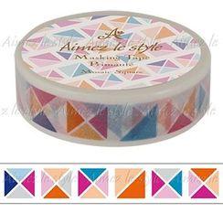 Aimez le style - Aimez le style Masking Tape Primaute Regular Mosaic Arrow