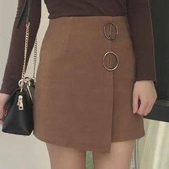 Cloud Nine - Wrap A-Line Skirt